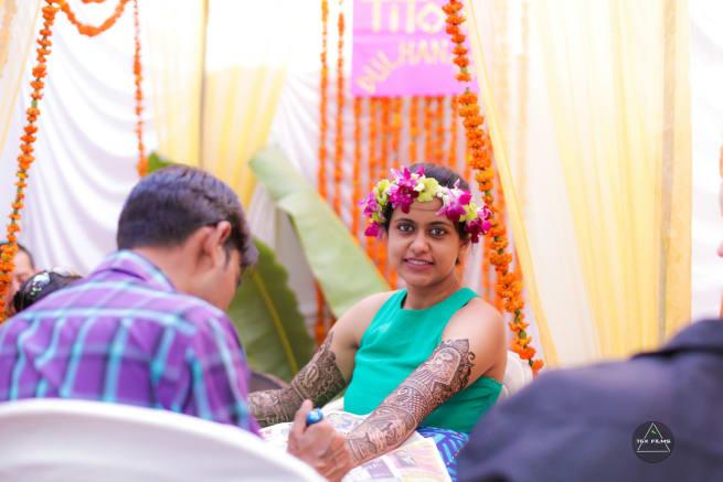 Bride Mehendi