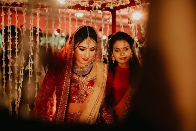 Bride Entery