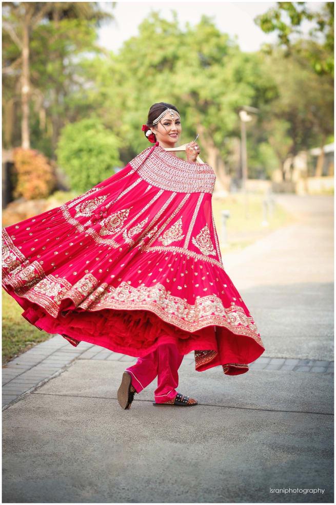 Bride With Lehenga