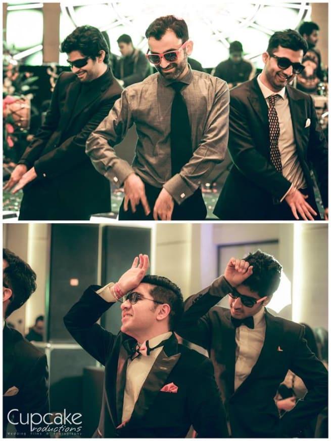 Grooms Dance In Wedding