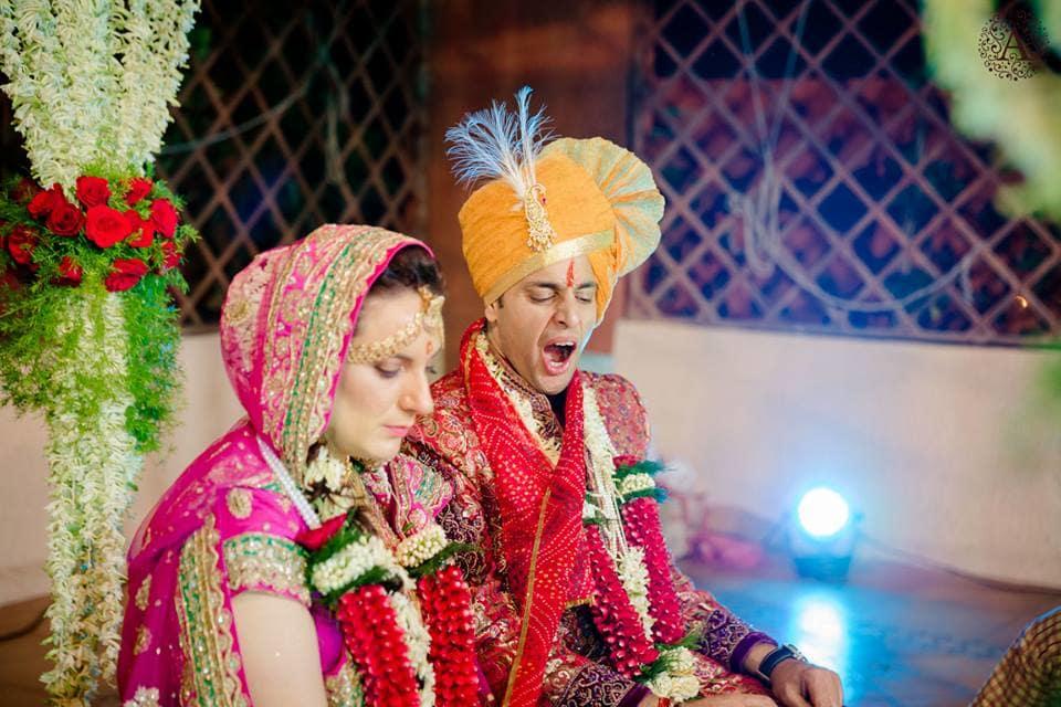 elizabeth weds kshitiz by ammour affair wedding rituals:amour affairs