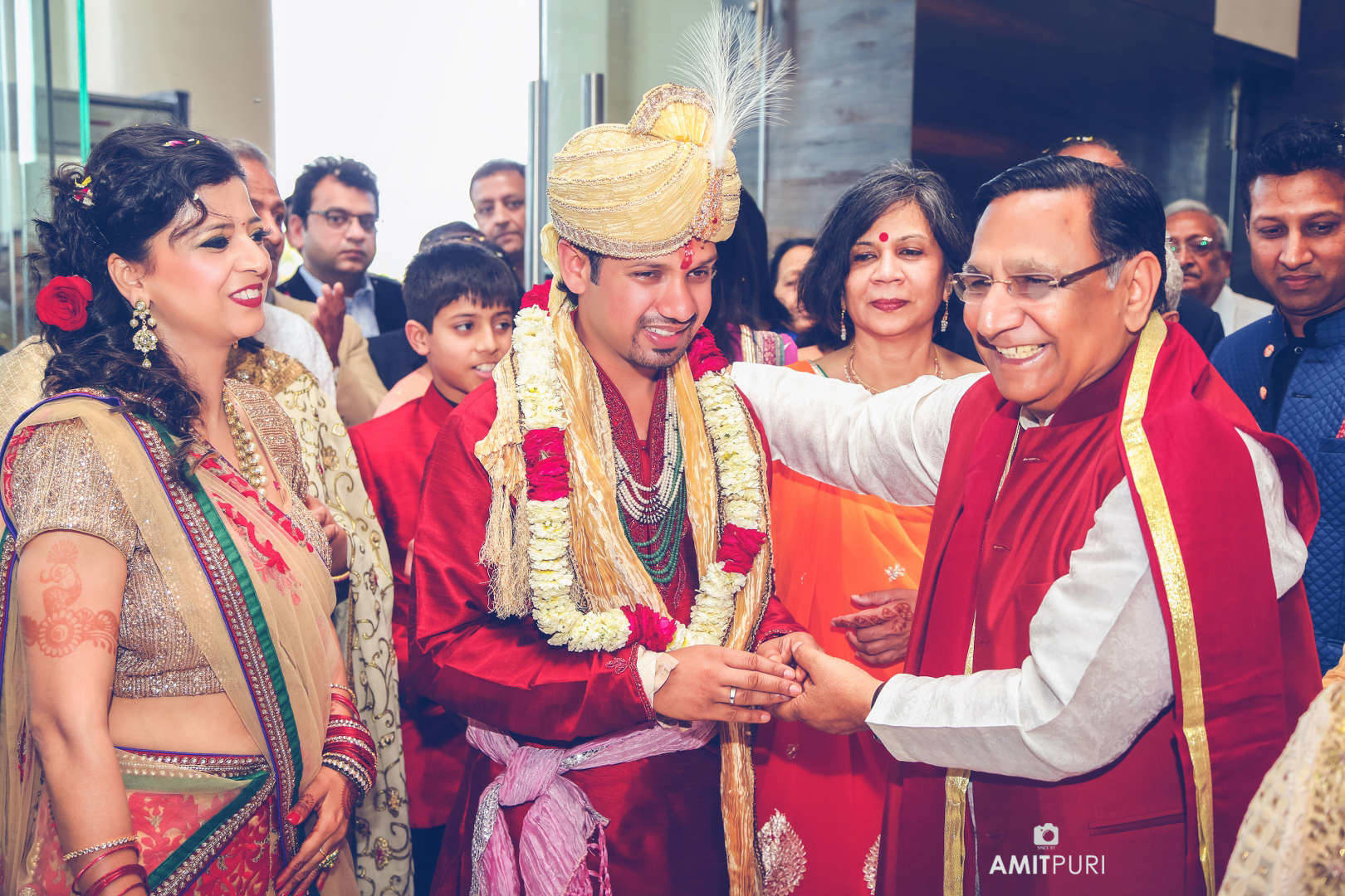 rituals with parents:amit puri photography