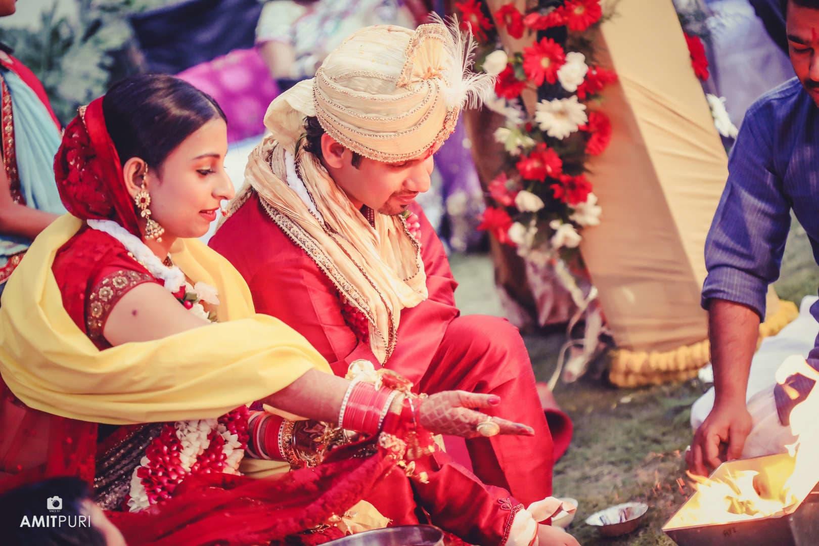 wedding rituals:amit puri photography