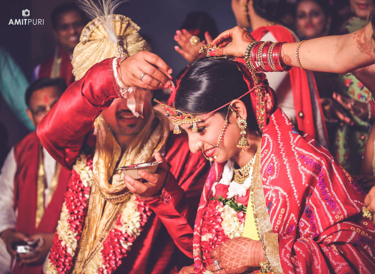 hindu wedding ritual:amit puri photography
