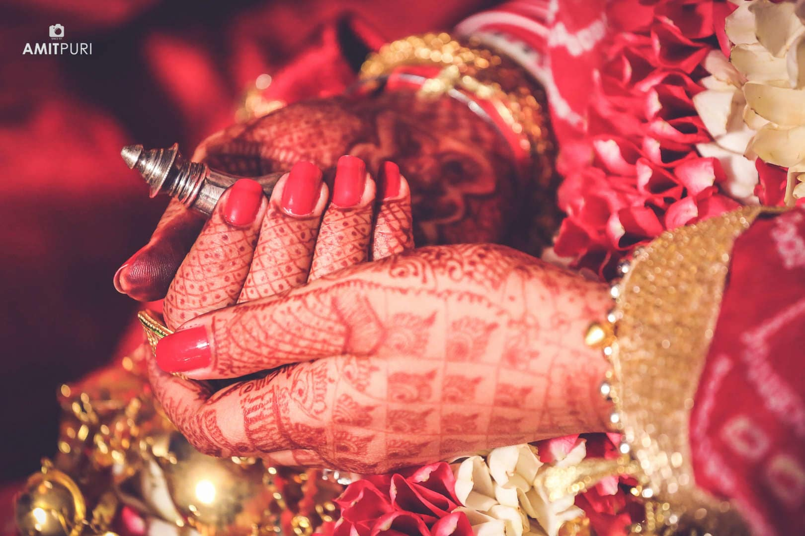 rituals performed by bride and groom:amit puri photography