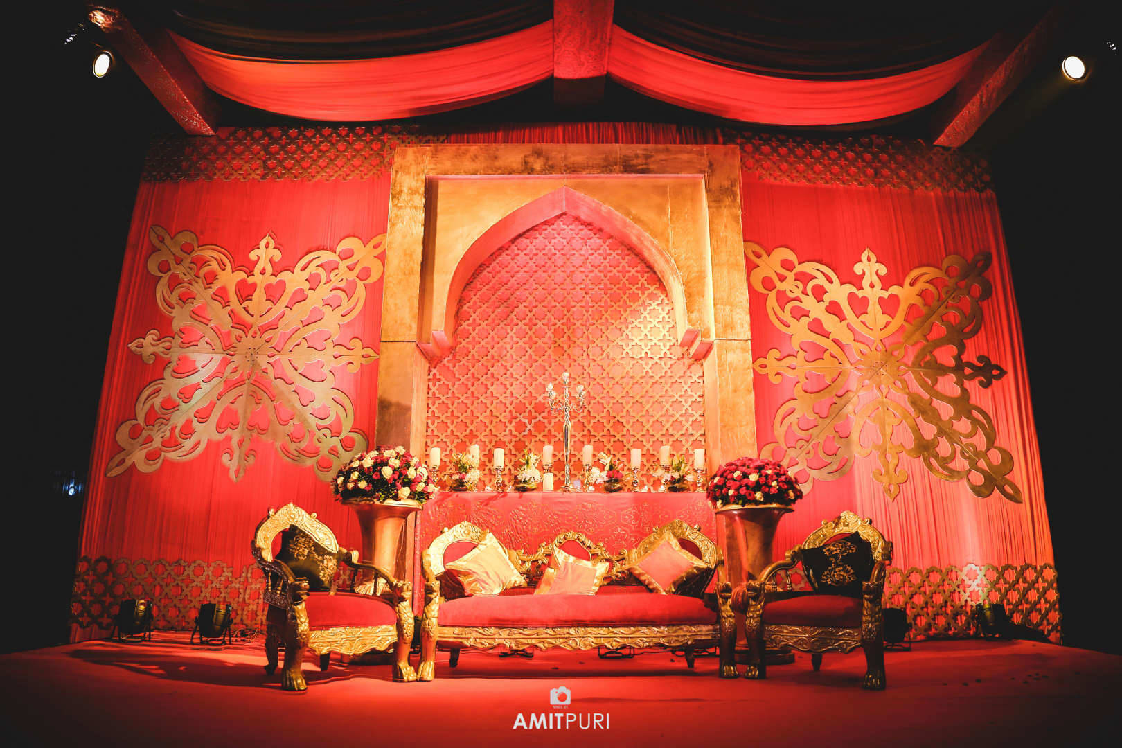 stage decoration:amit puri photography