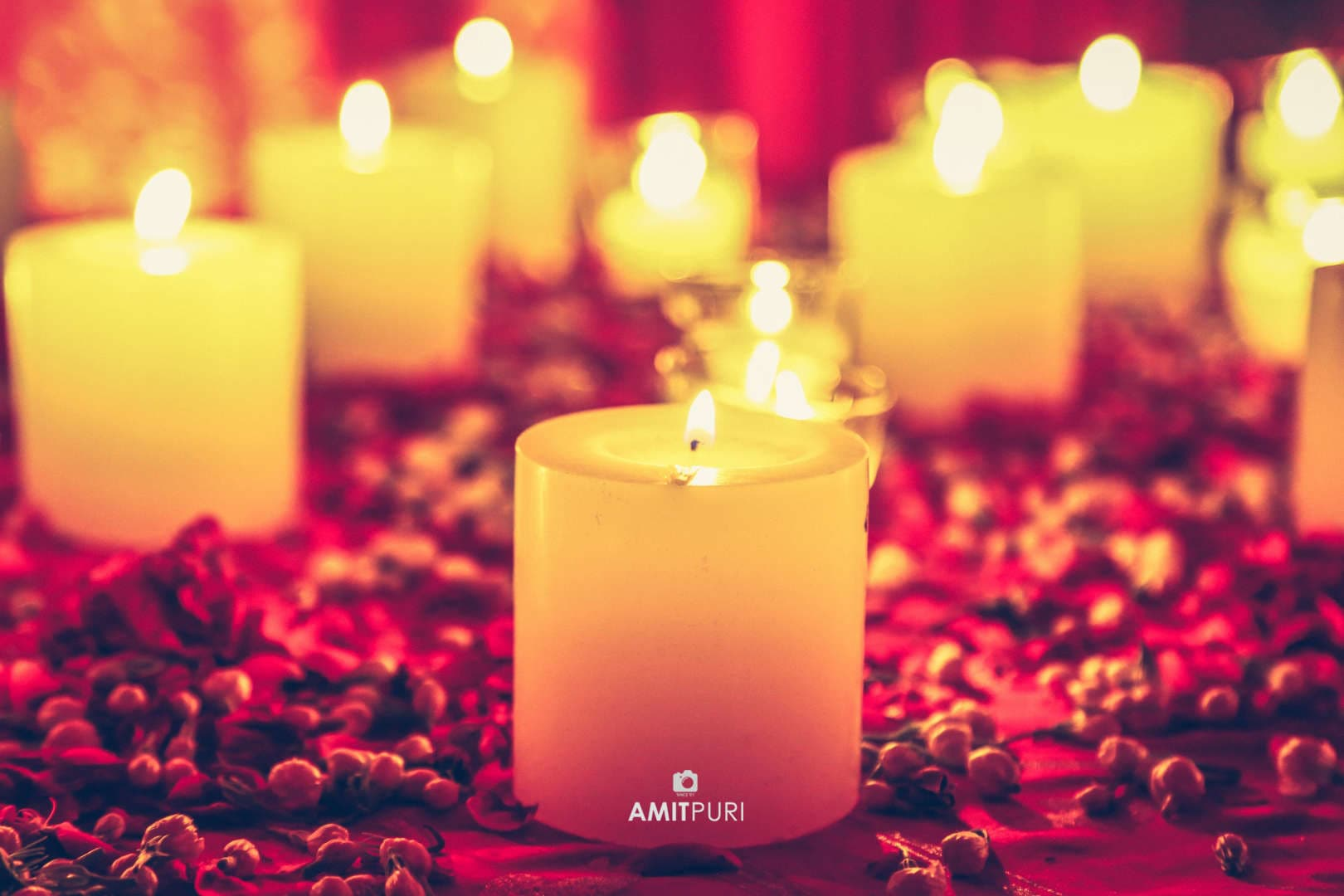 beautiful candles:amit puri photography