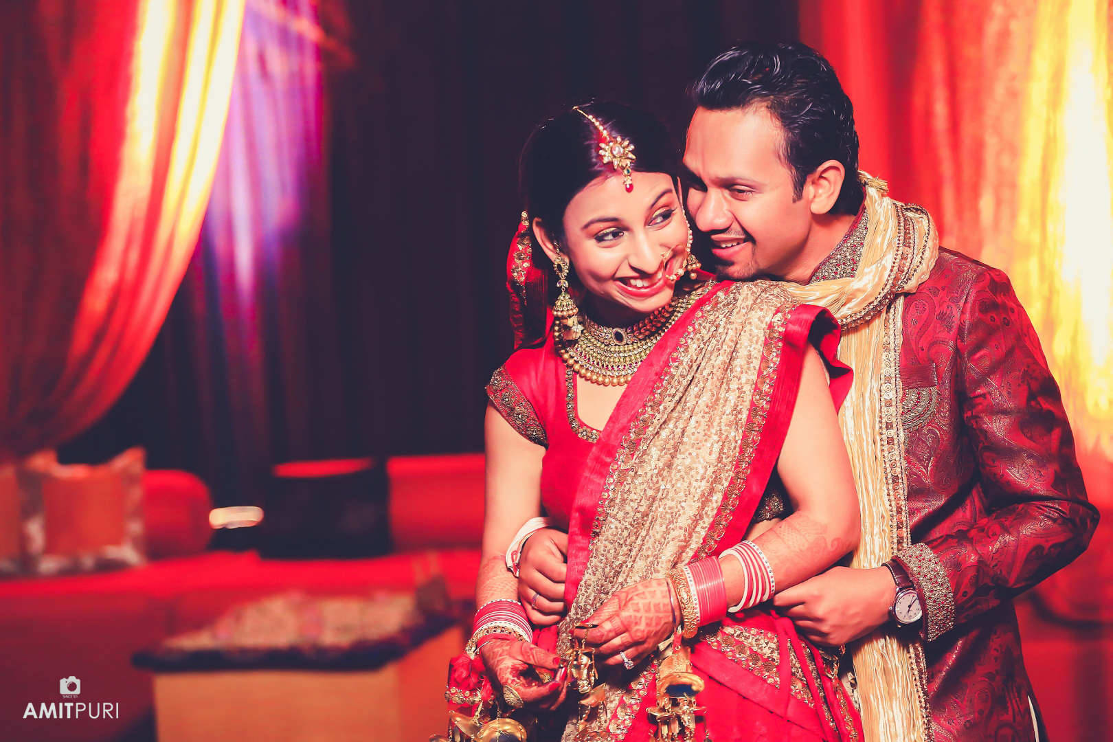 wedding couple romantic click:amit puri photography