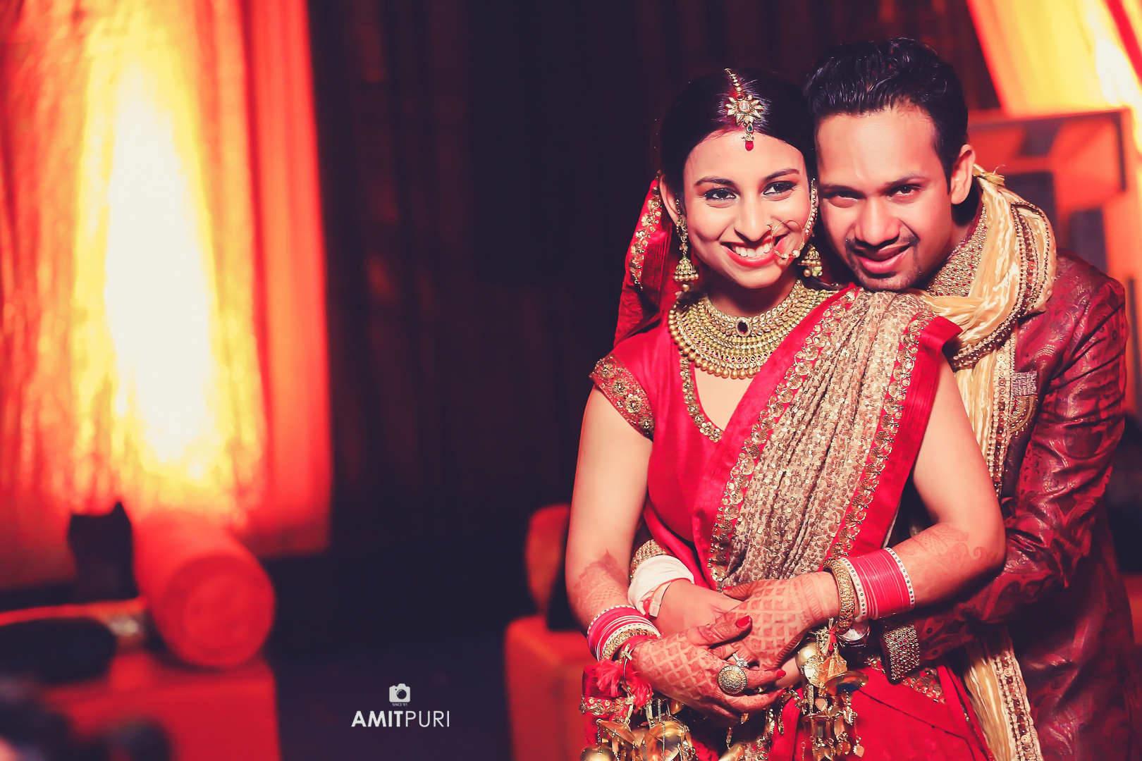 wedding couple photography:amit puri photography