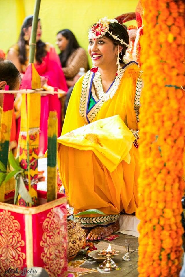 haldi ceremony:plush affairs
