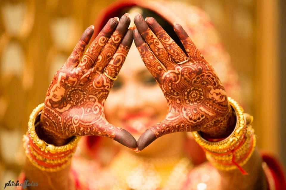 bridal mehandi:plush affairs
