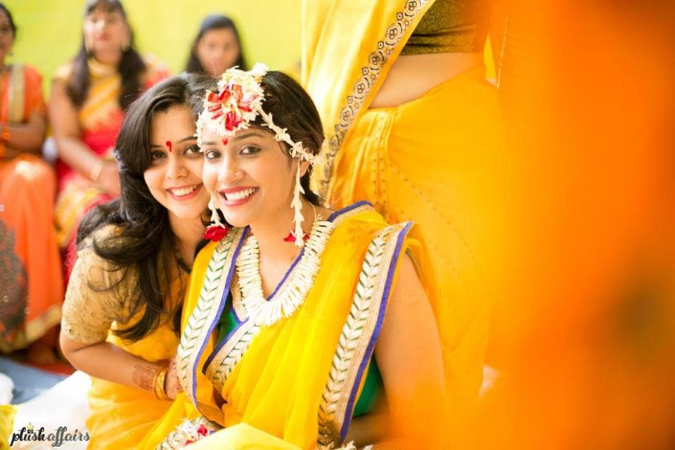 haldi ceremony:plush affairs