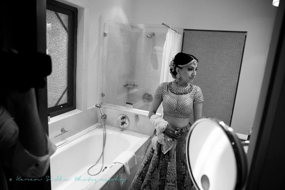 bridal wear:karan sidhu photography