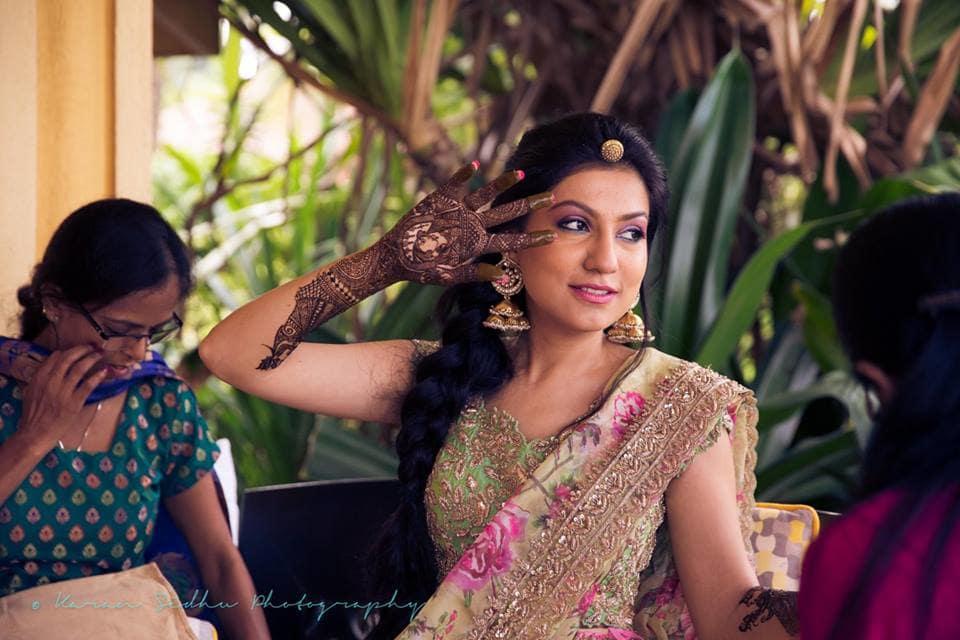 bridal mehandi:karan sidhu photography