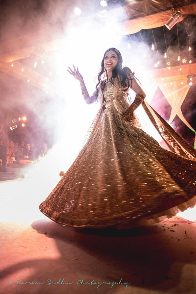 bridal wear:karan sidhu photography
