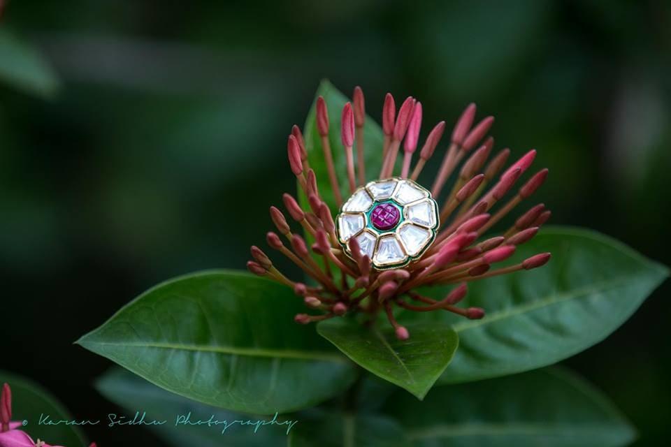 wedding ring:karan sidhu photography