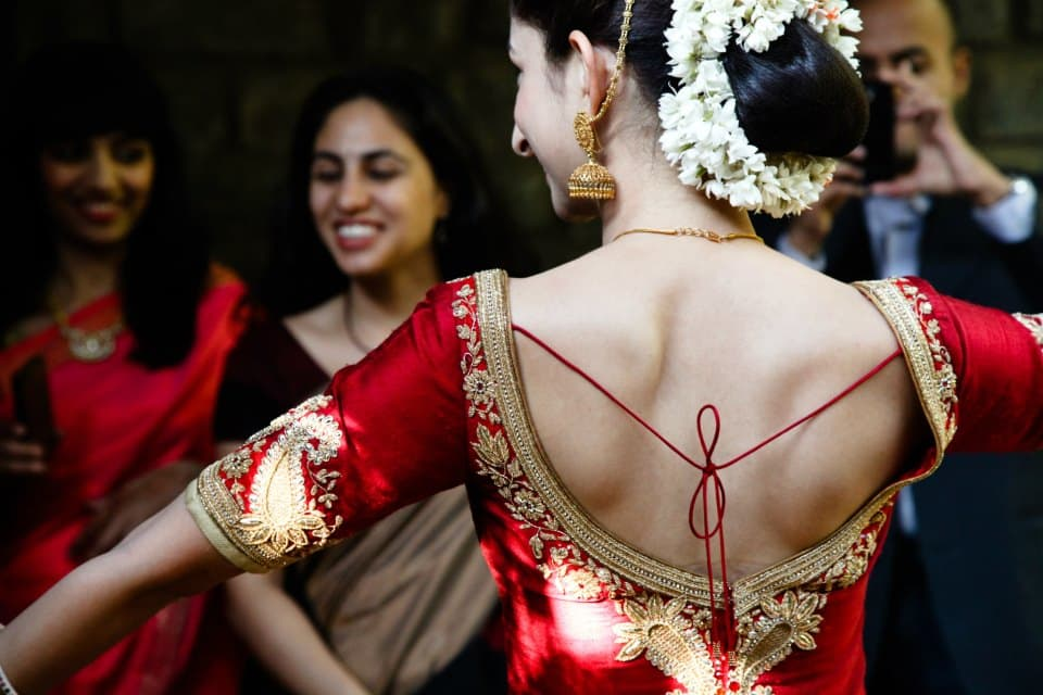 bridal wear:coffee stains photographer