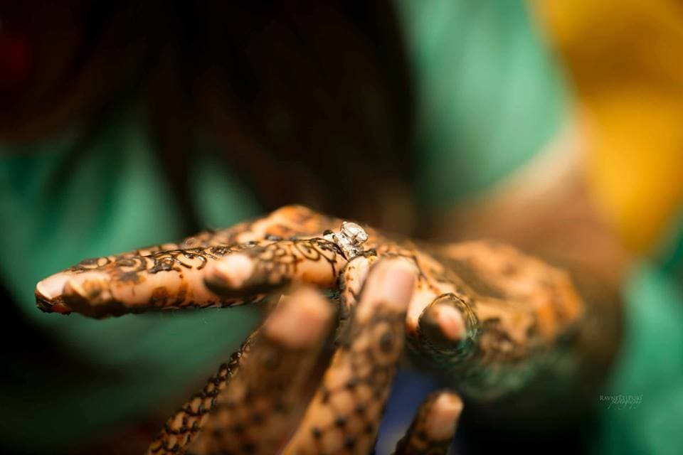 bridal mehandi: