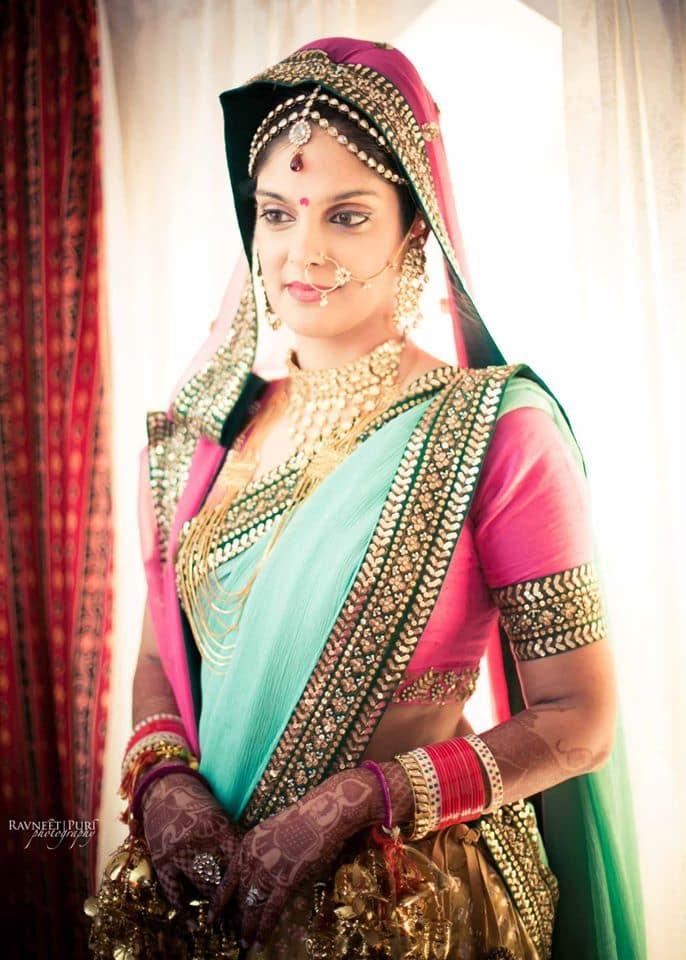 bridal wear: