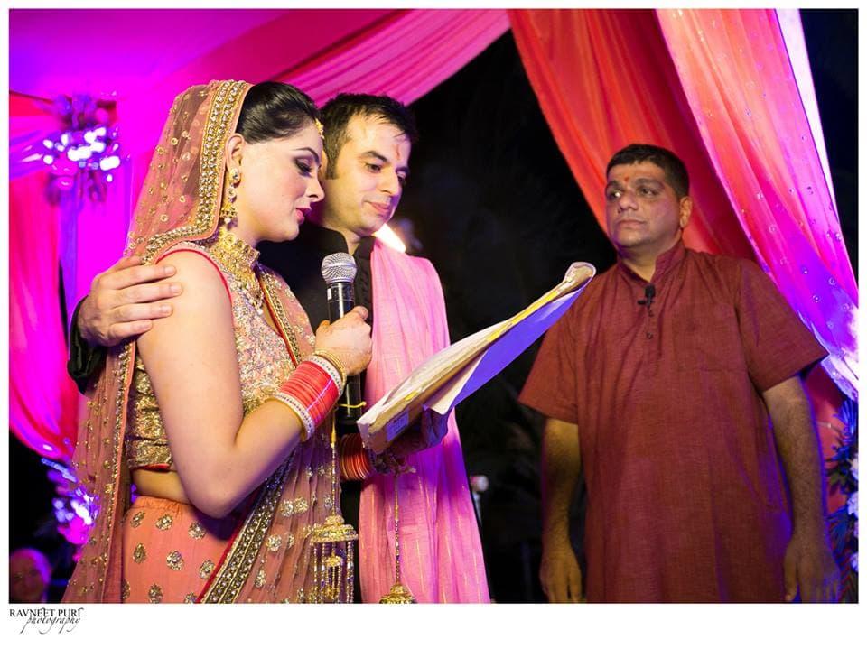 bridal wear:ravneet puri photography