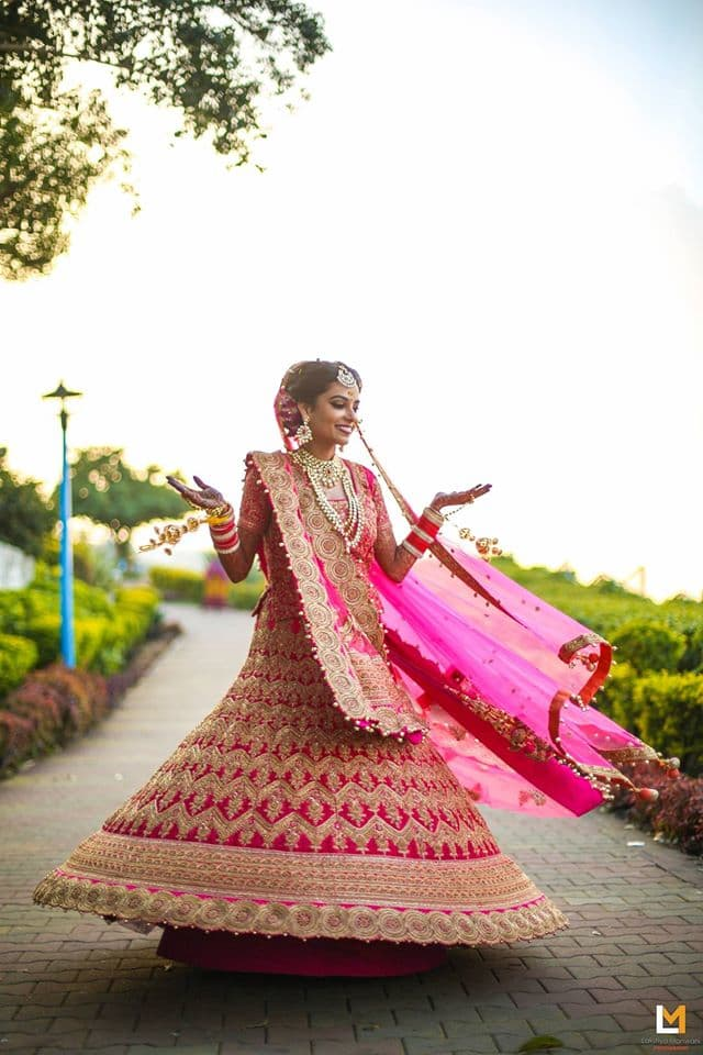 bridal wear:lakshya manwani photography