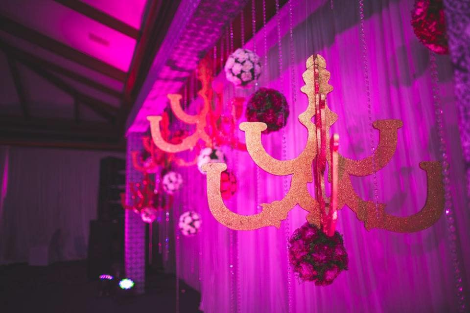 decoration ideas:purple tree event solutions