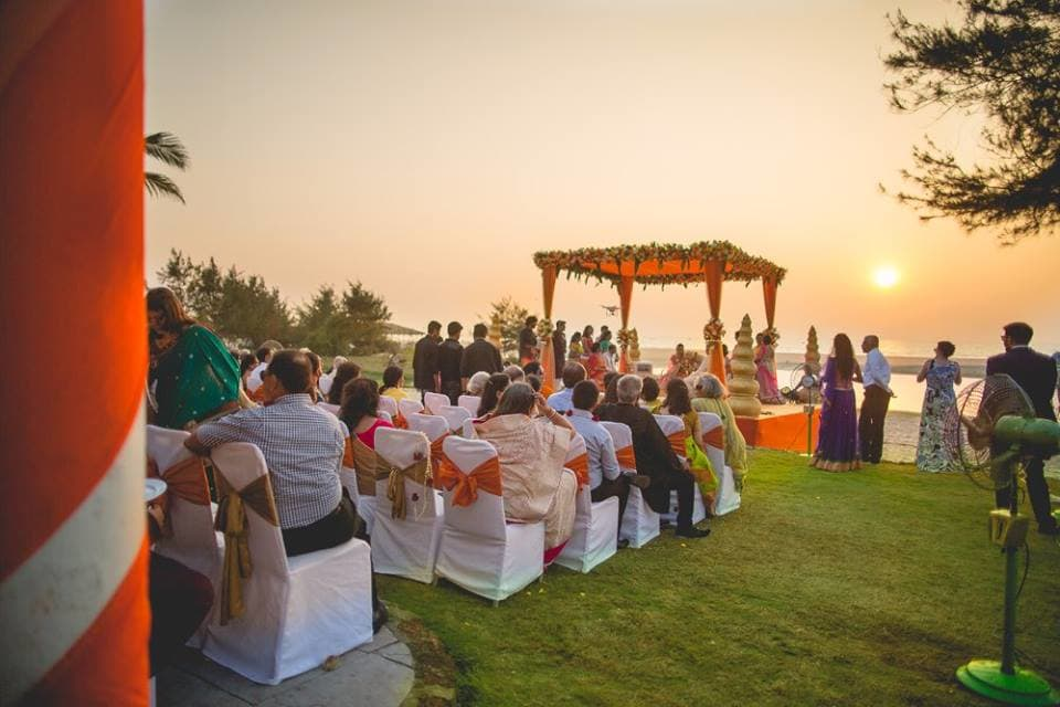 wedding ceremony:purple tree event solutions