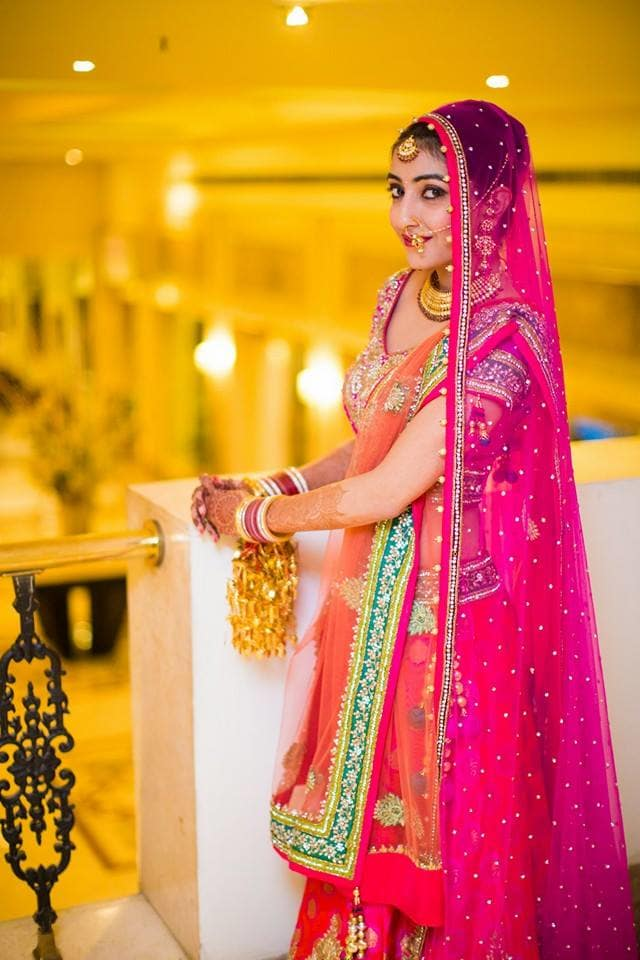 bridal wear:mahima bhatia photography