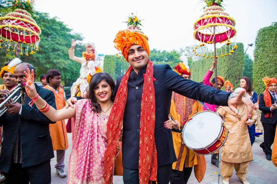 baraat dance:mahima bhatia photography