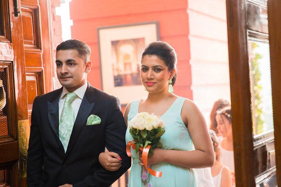 wedding outfitac:mahima bhatia photography