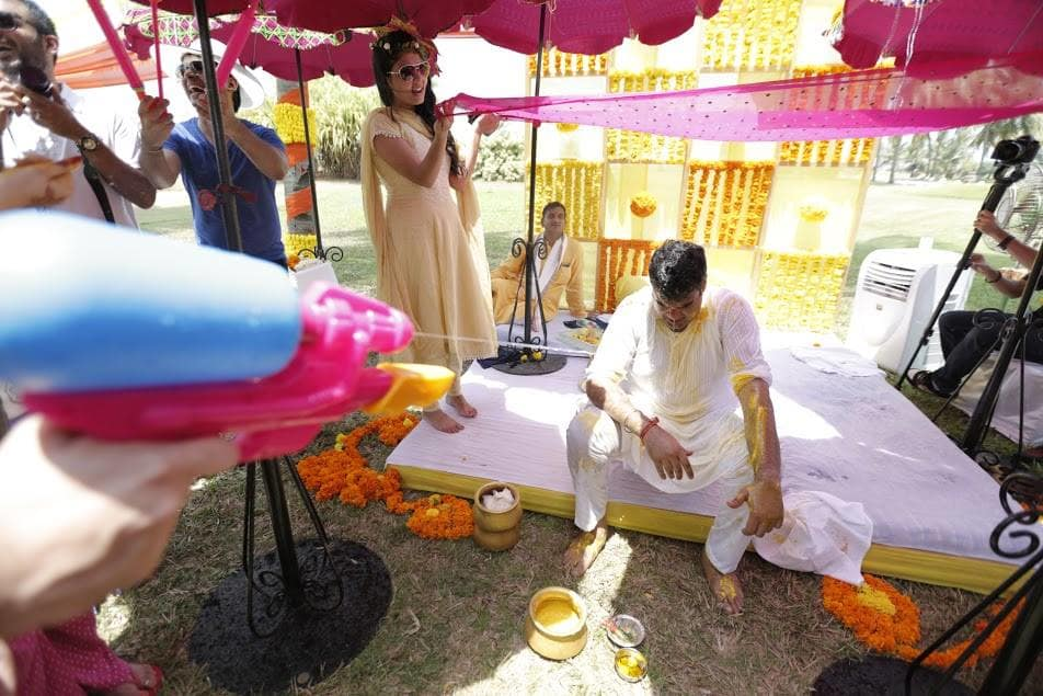 haldi ceremony:purple tree event solutions