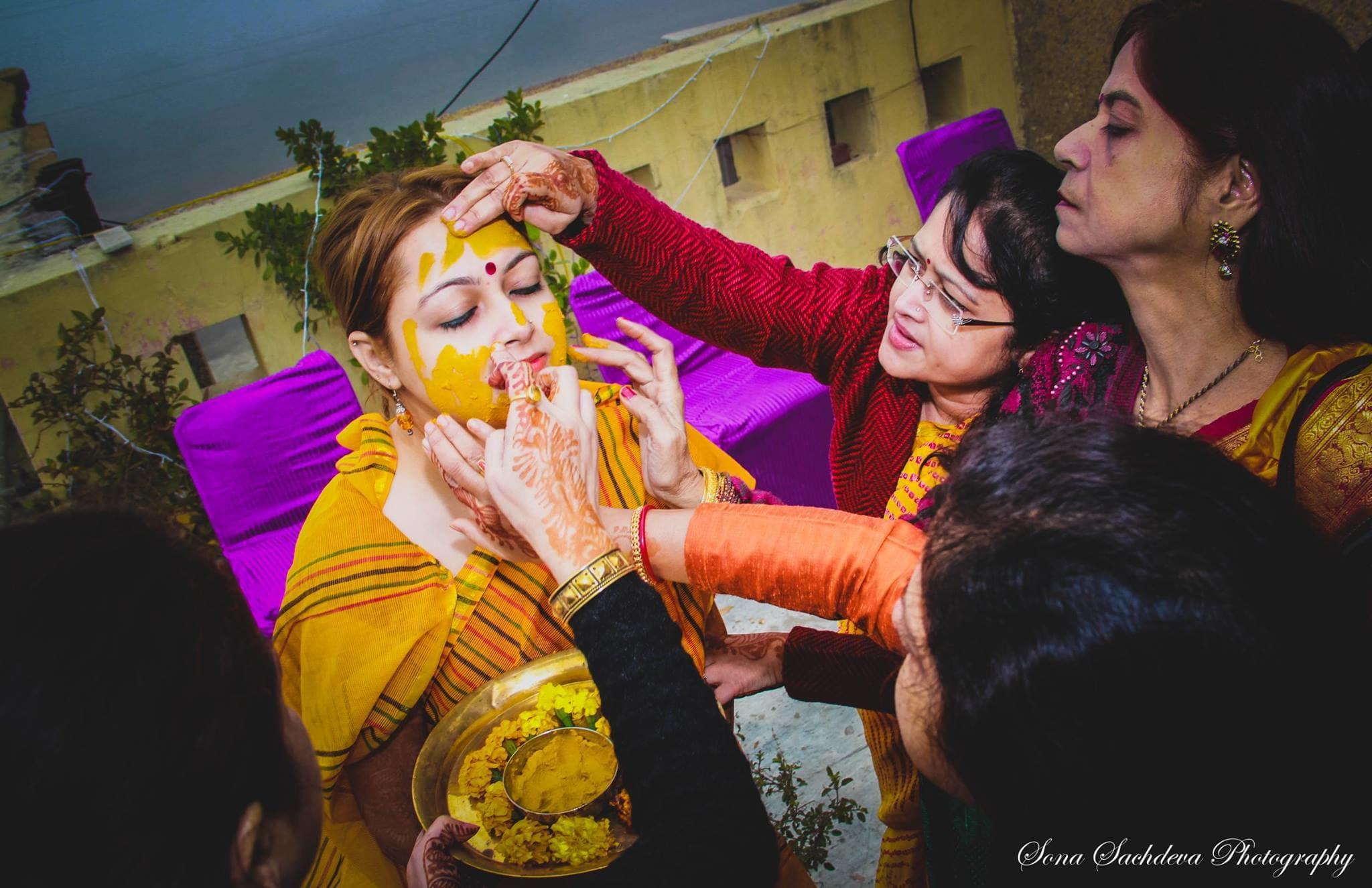 haldi:sona sachdeva photography