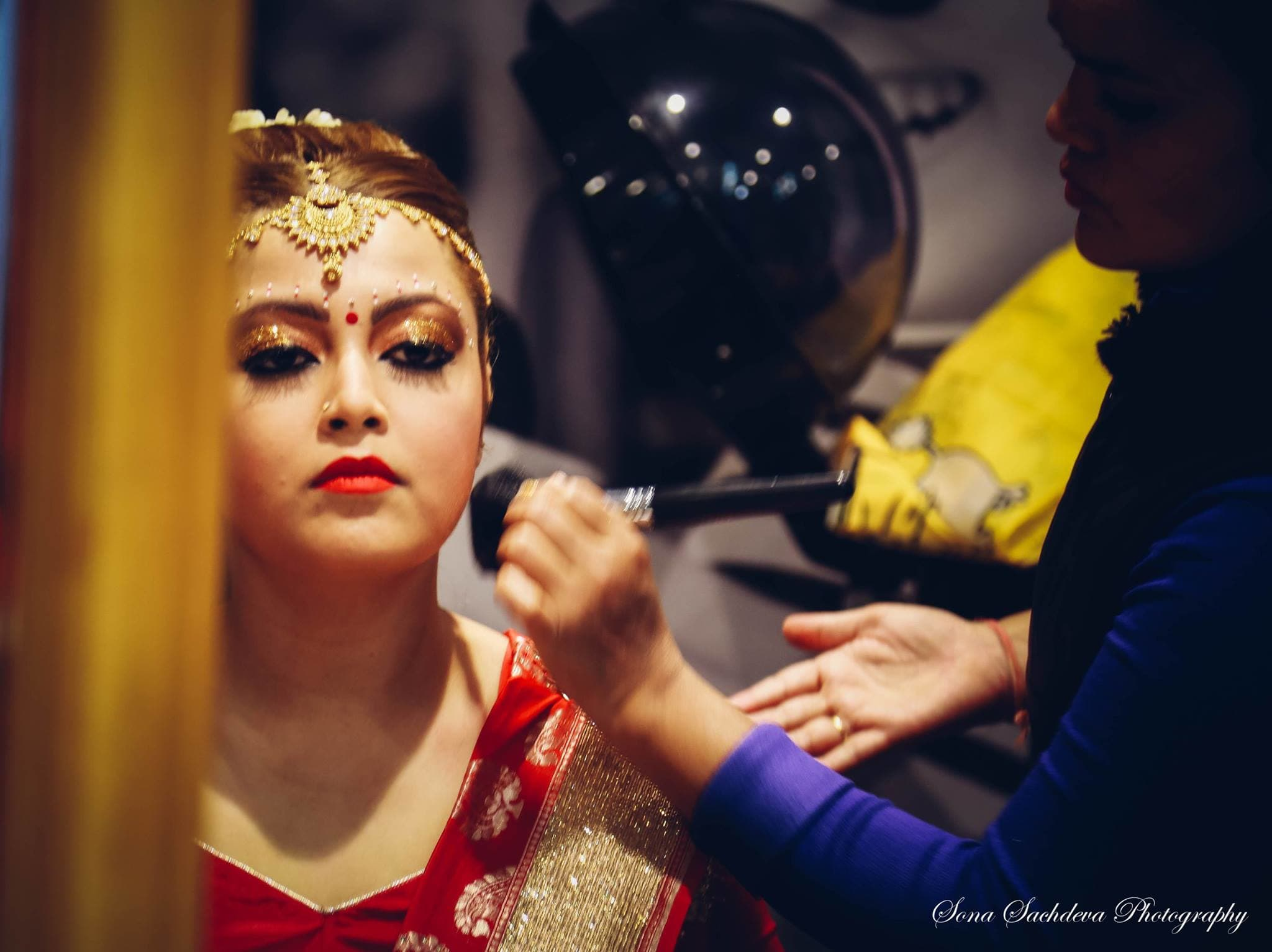 bridal makeup:sona sachdeva photography
