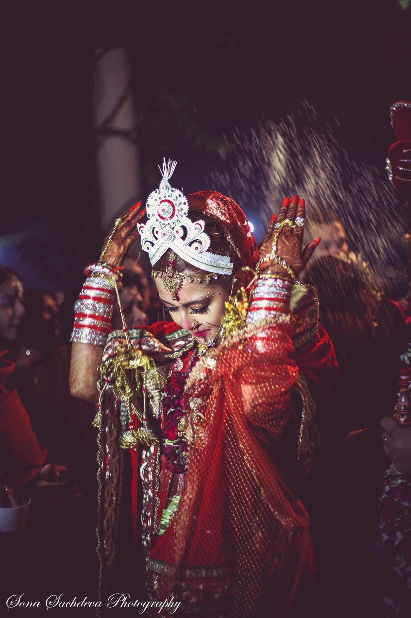 bridal wear:sona sachdeva photography