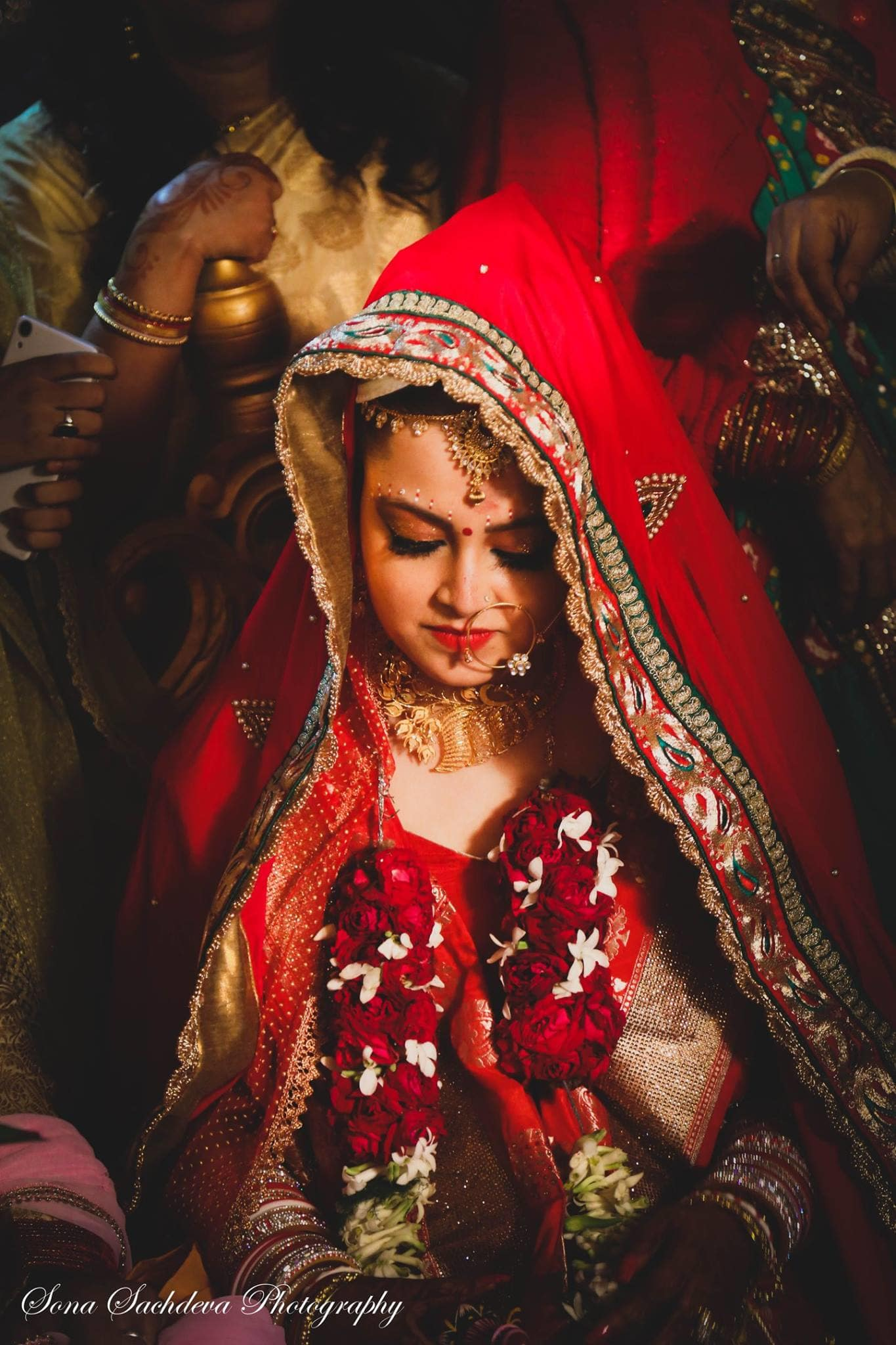bridal wear:sona sachdeva photography