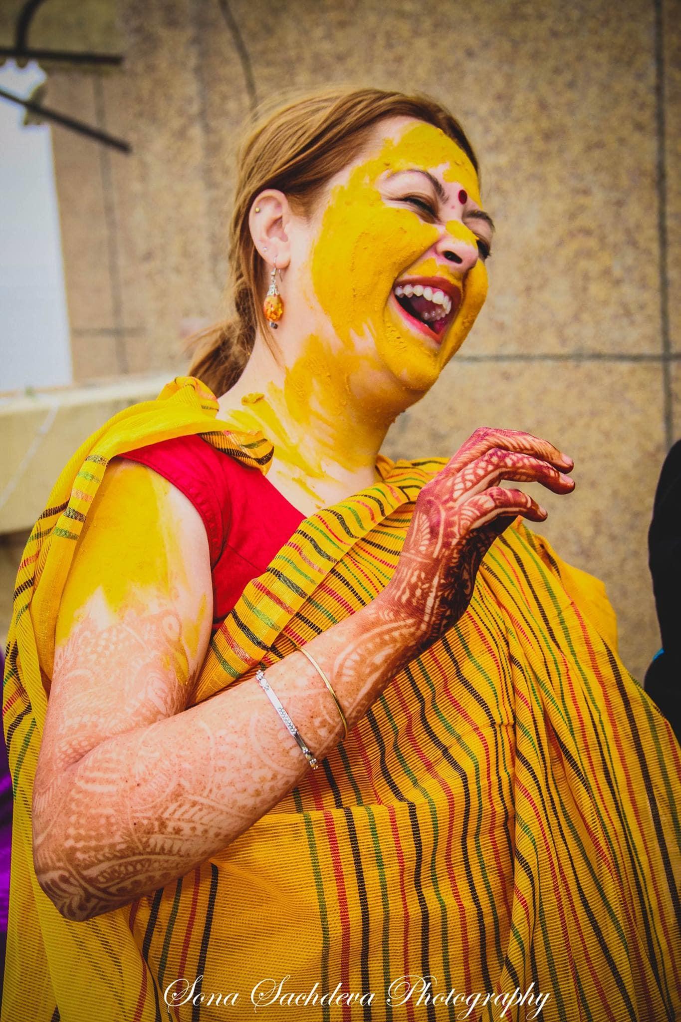 haldi ceremony:sona sachdeva photography