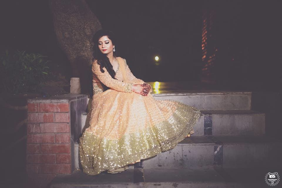 bridal wear:aman gera photography