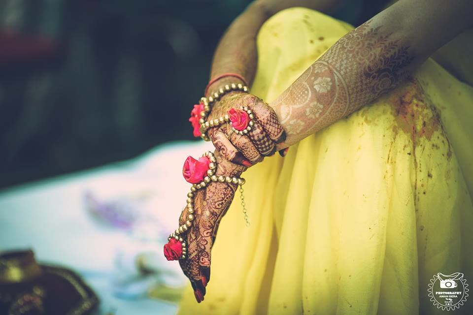 bridal mehandi:aman gera photography
