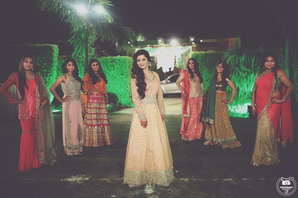 bridemaid shot:aman gera photography