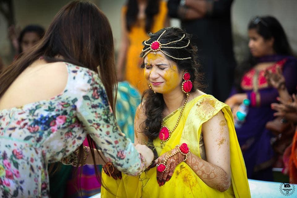 haldi ceremony:aman gera photography