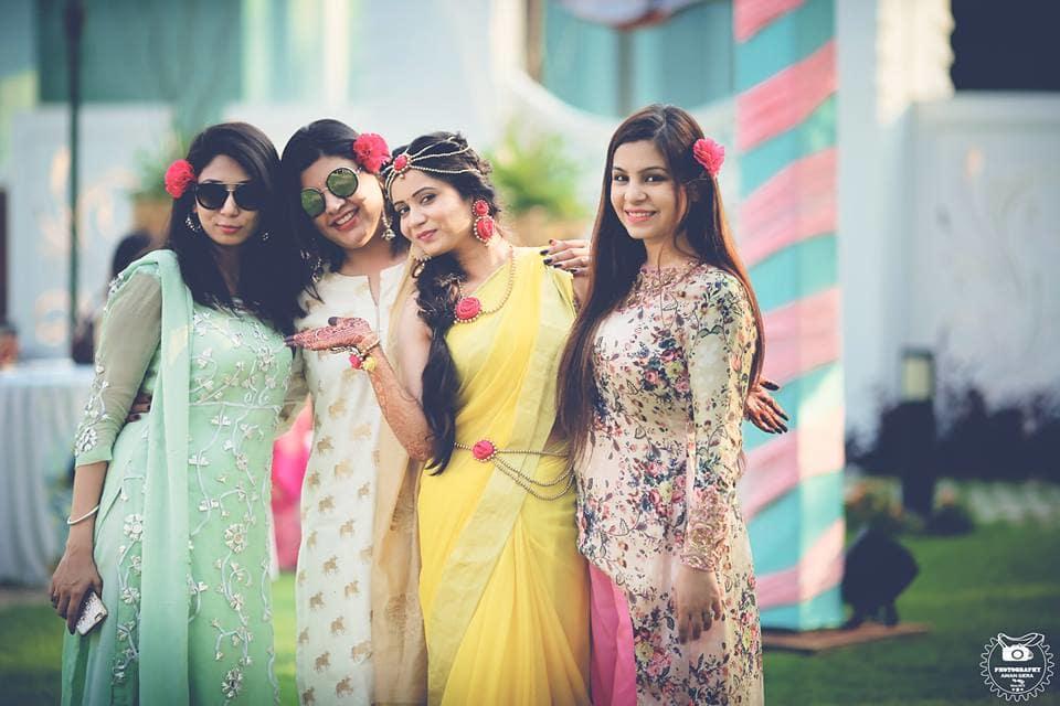 bridemaid shot:aman gera photography