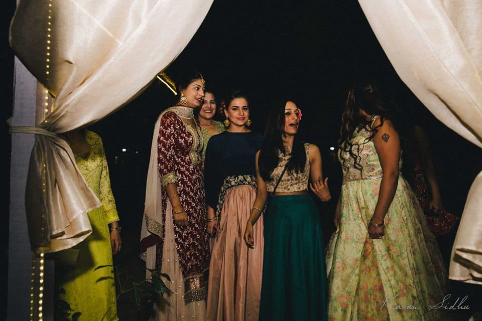 bridemaid shot:karan sidhu photography
