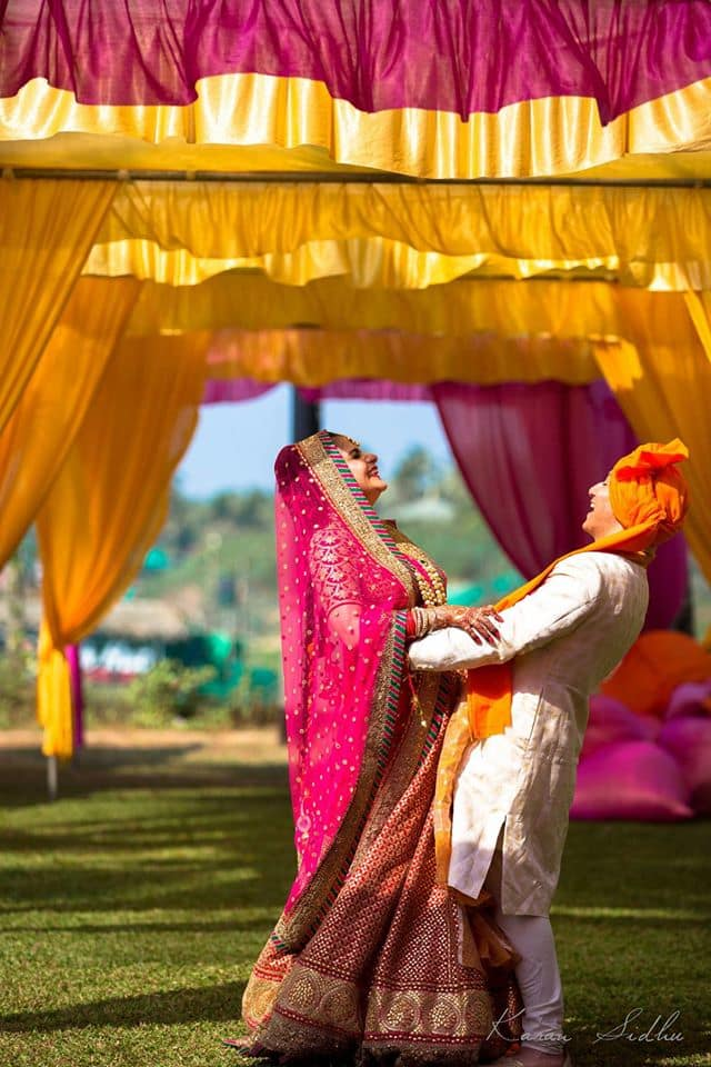 wedding outfit:karan sidhu photography