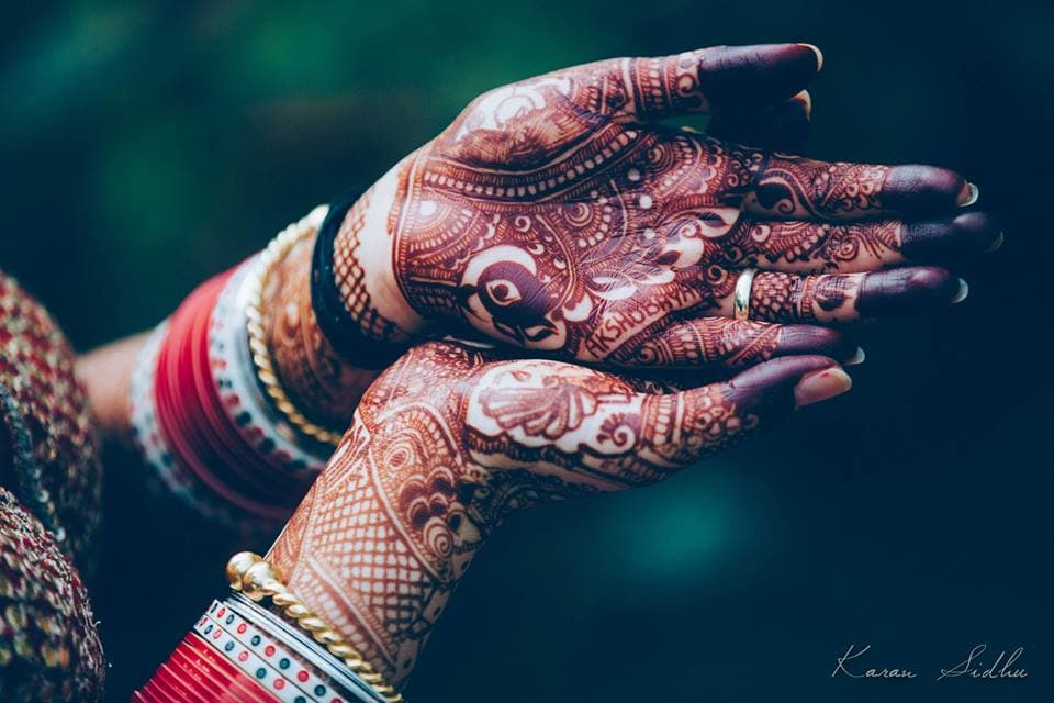 bridal mehandi:karan sidhu photography
