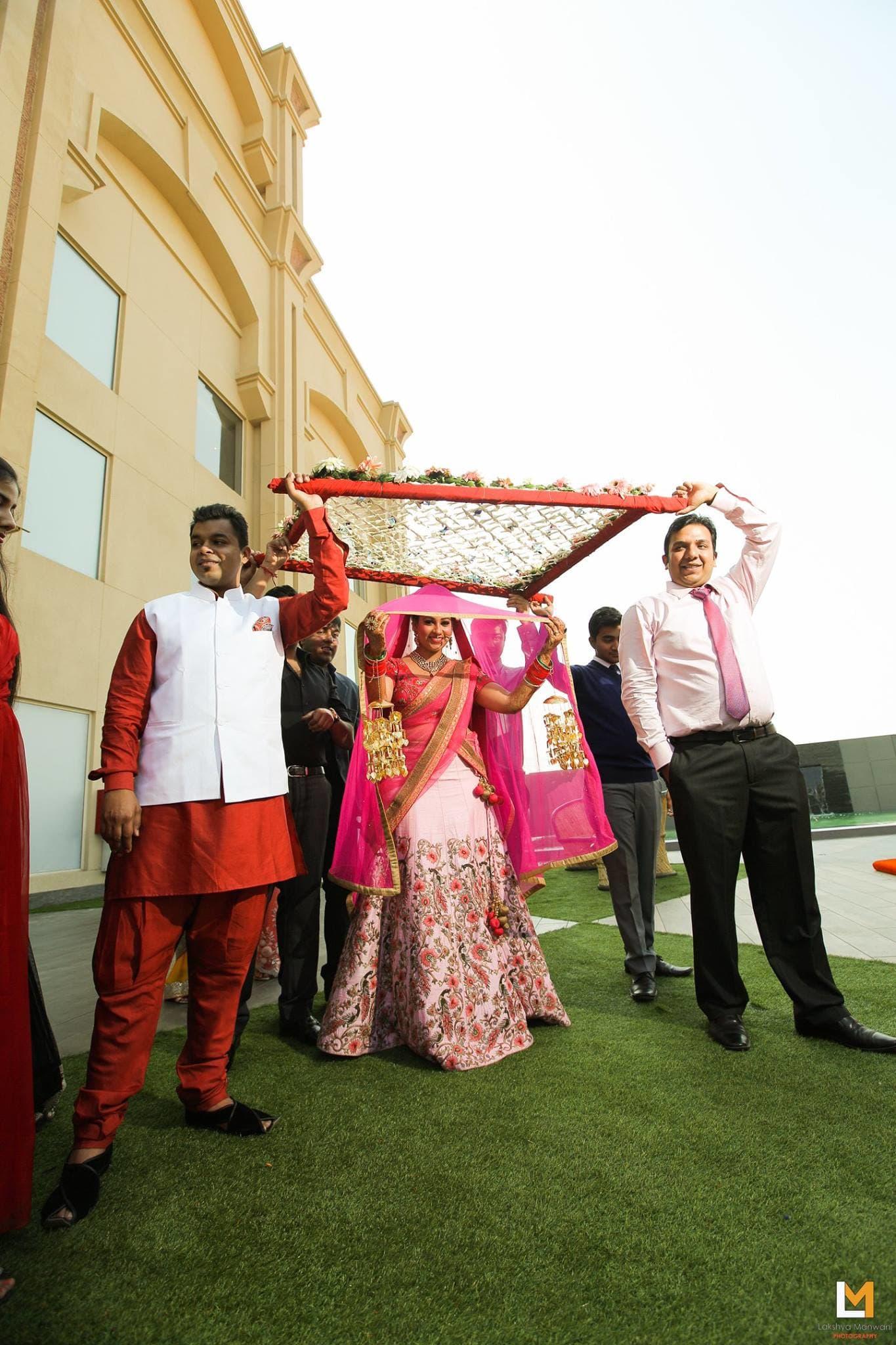 bridal wear:lakshya manwani photography