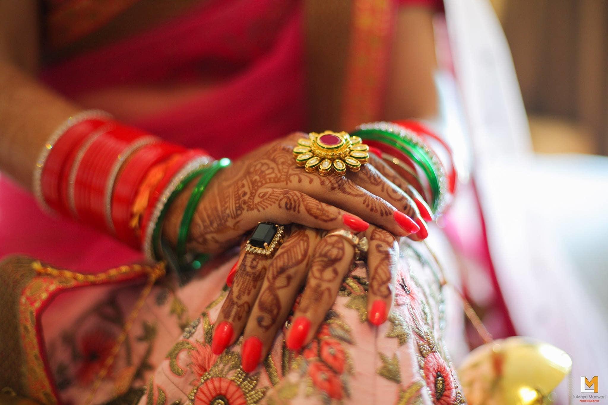 bridal mehandi:lakshya manwani photography