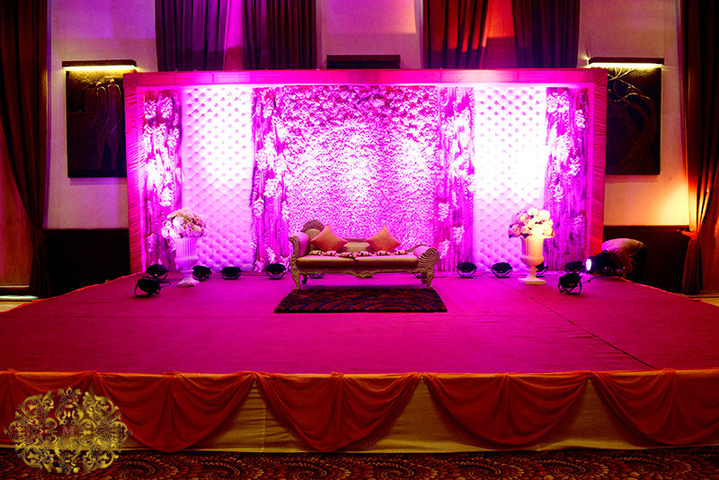 stage decoration:mahatta photography