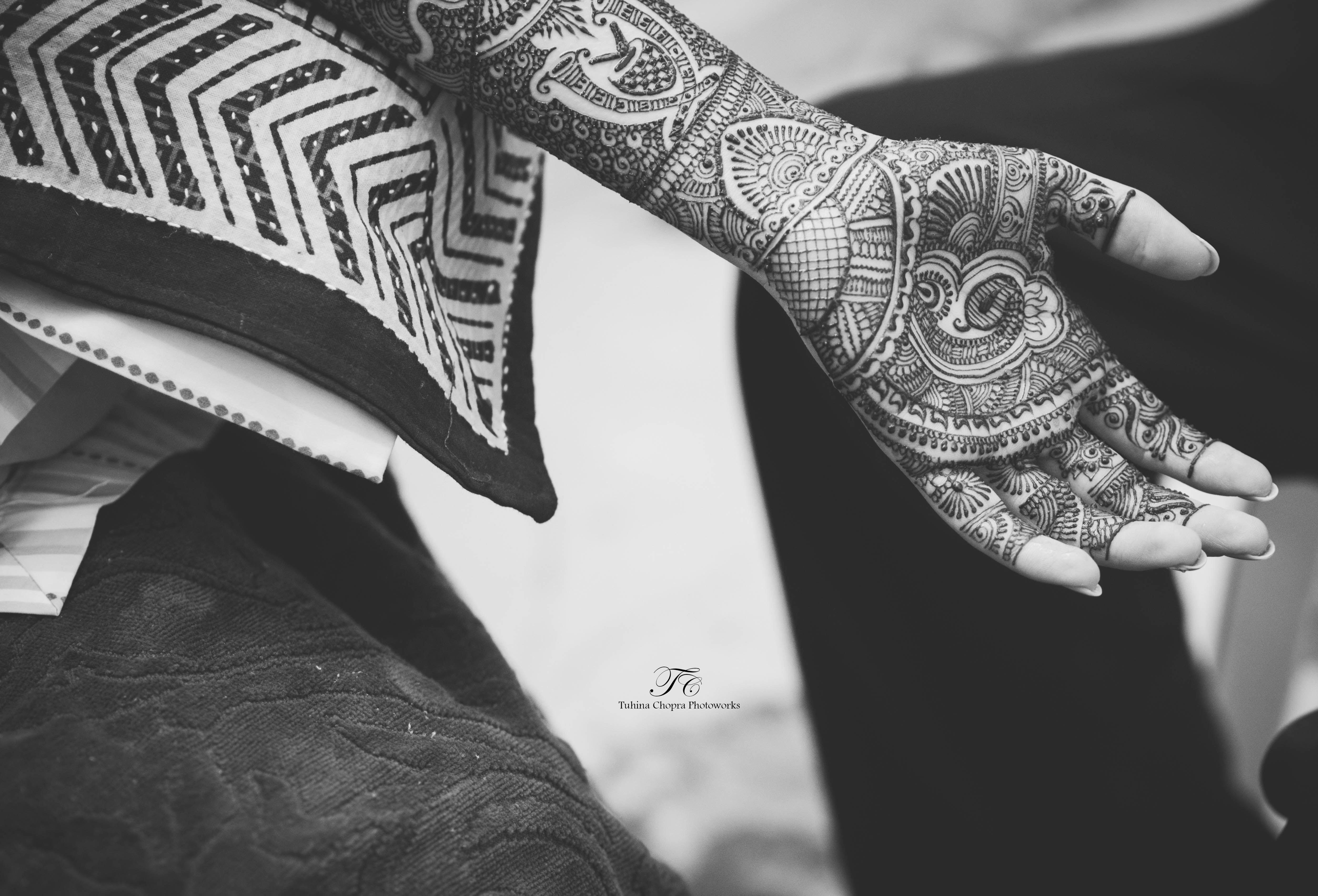 bridal mehandi:tuhina chopra photoworks