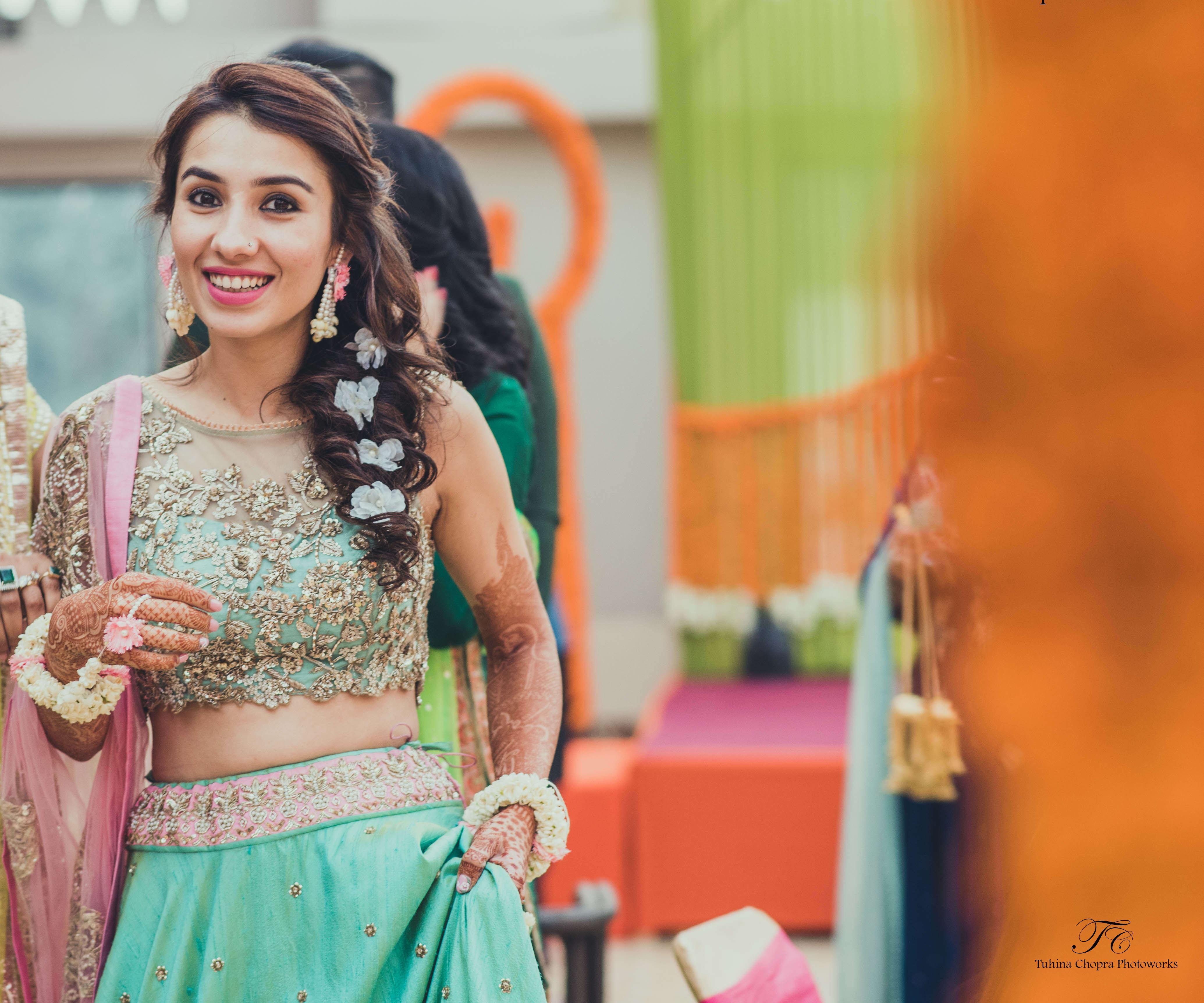 ready for sangeet:tuhina chopra photoworks