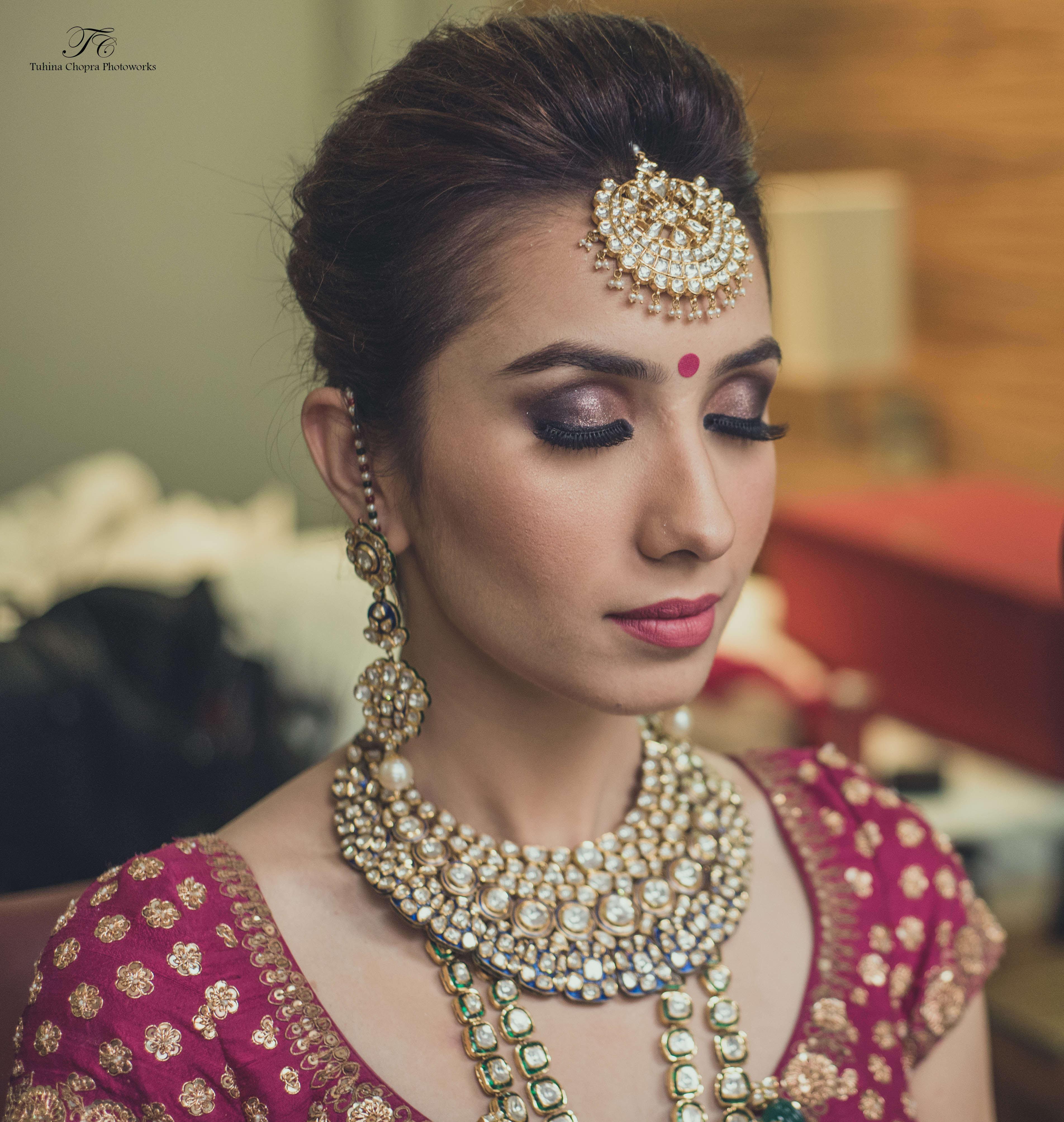 getting ready shot:tuhina chopra photoworks